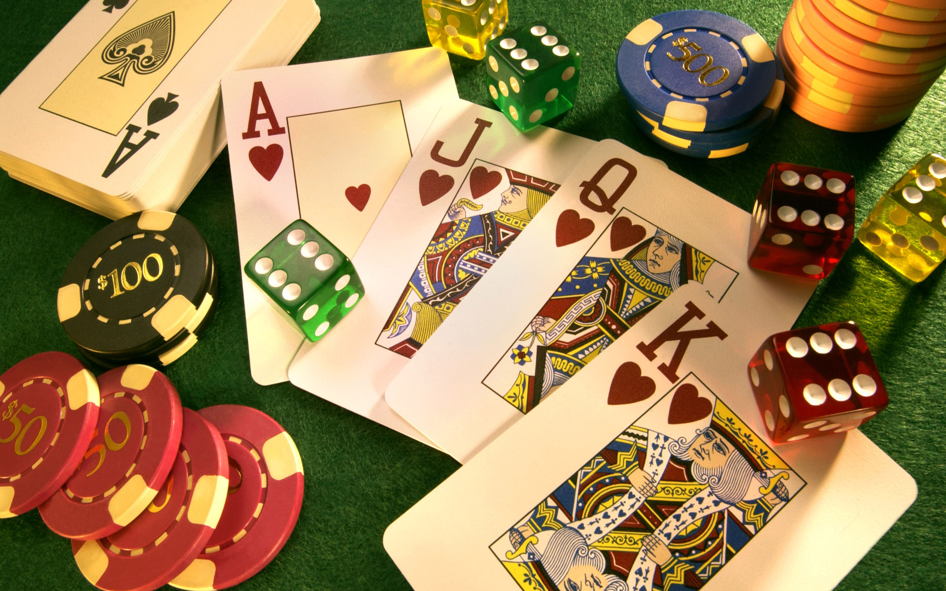 Dice, Cards and Chips