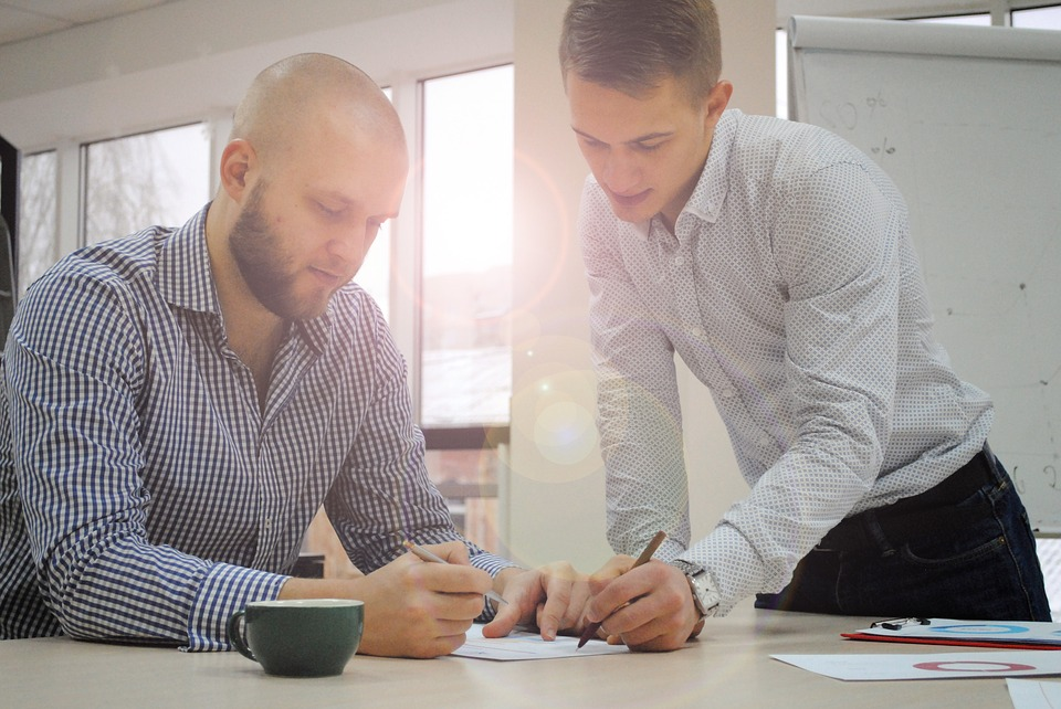 Shirts Write Men Business Help Discussion Two